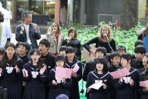 アンニャ+中学生合唱